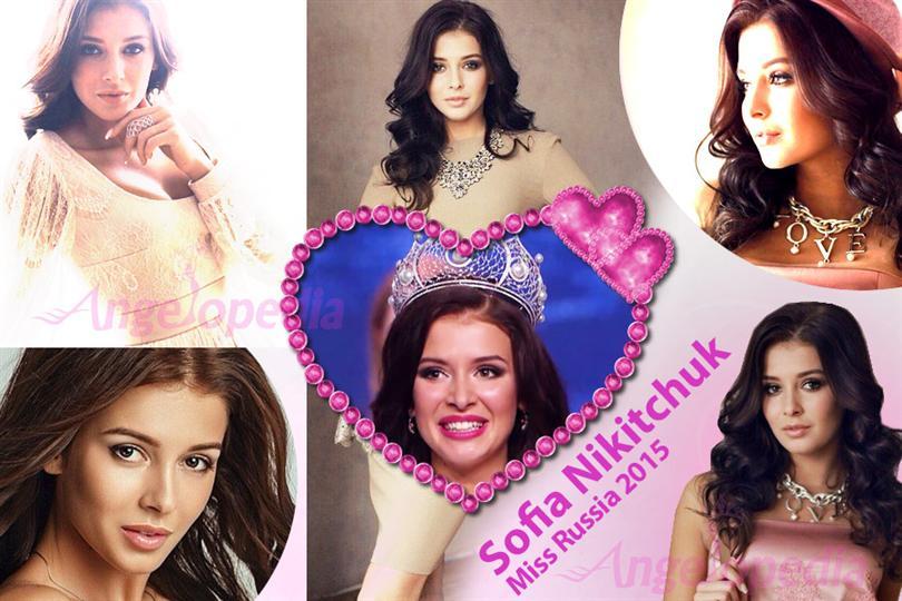 Sofia Nikitchuk Miss Russia 2015 Winner