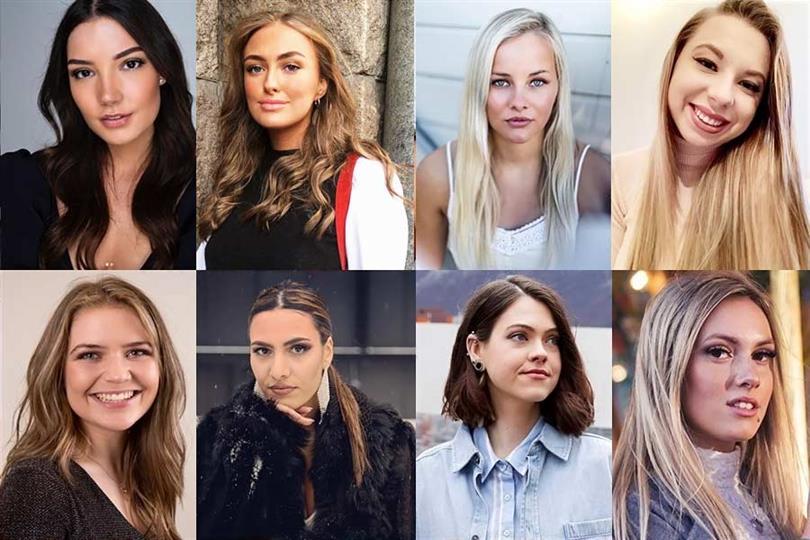Miss Norway 2020 Meet the Contestants