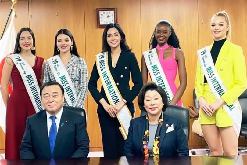 Miss International 2019 Sireethorn Leearamwat's remarkable start of international journey