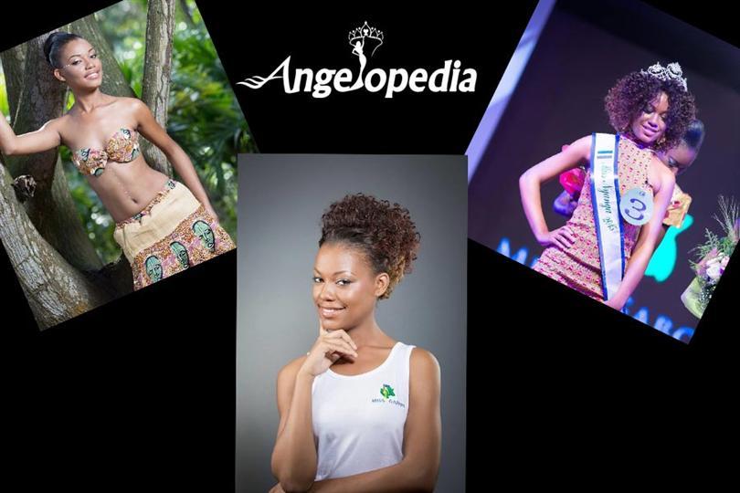 Reine Ngotala Miss Universe Gabon 2015