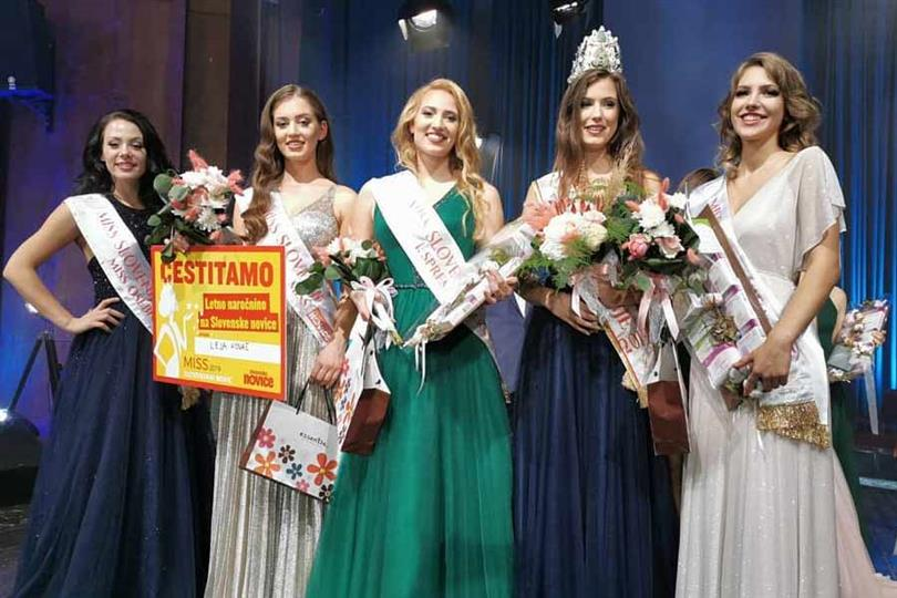 Špela Alic crowned Miss World Slovenia 2019
