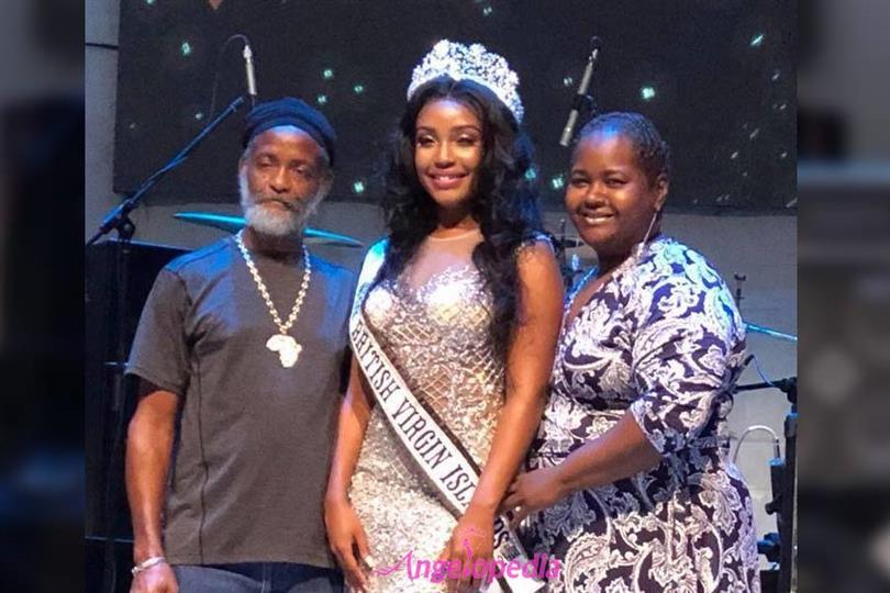 A'yana Phillips crowned Miss Universe British Virgin Islands 2018