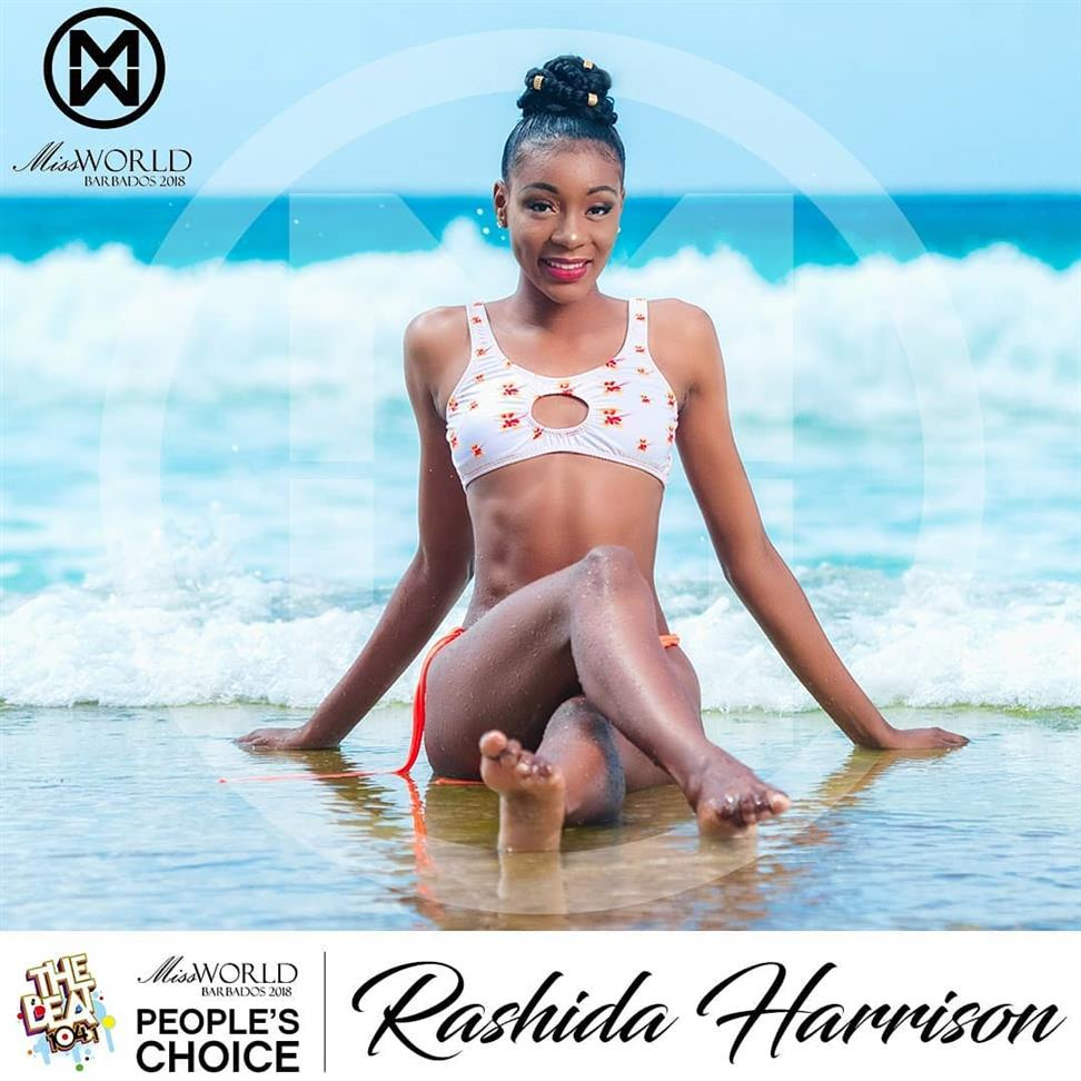 People's Choice Catalogue for Miss World Barbados 2018?