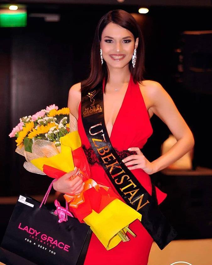 Tamila Sparrow Miss Global Uzbekistan 2018, our favourite for Miss Global 2018