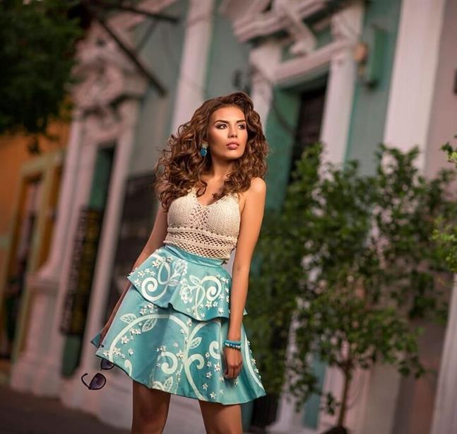 Marlen Morales determination for Miss Nicaragua 2018