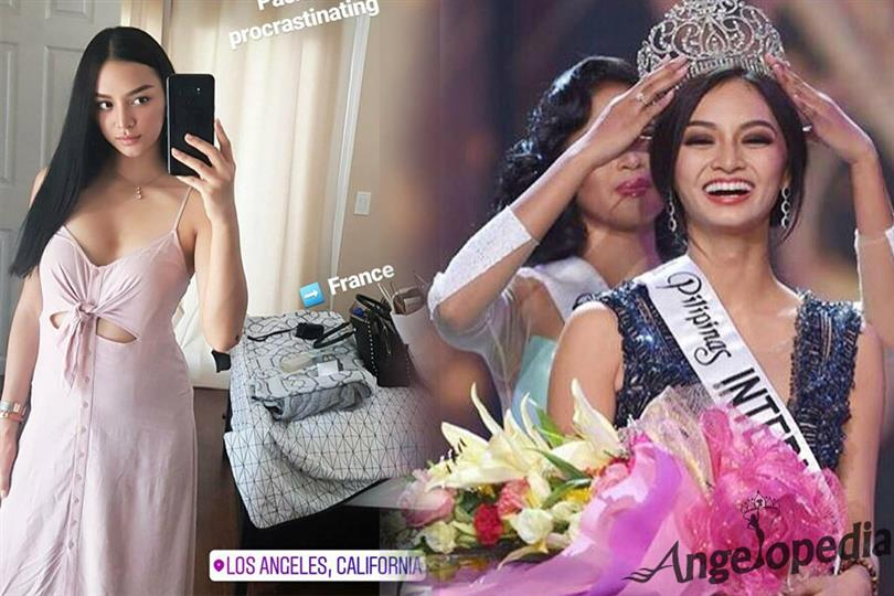 Kylie Verzosa to attend Miss International France 2017