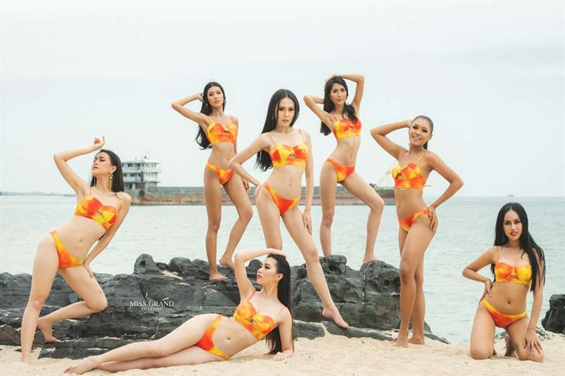 Miss Grand Thailand 2019 contestants dazzle at the swimsuit competition