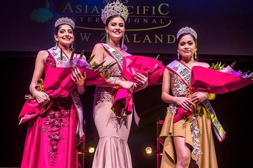 Chelsea Martin crowned Miss Asia Pacific International New Zealand 2019