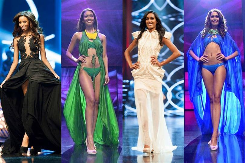 Miss South Africa 2015 contestants during Preliminary Competition