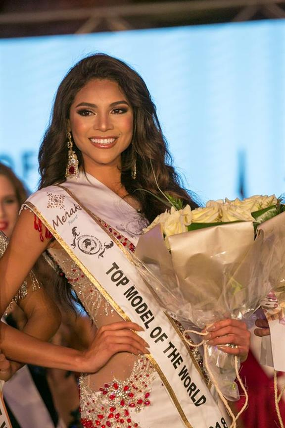 Janet Leyva from Peru crowned Top Model Of The World 2018