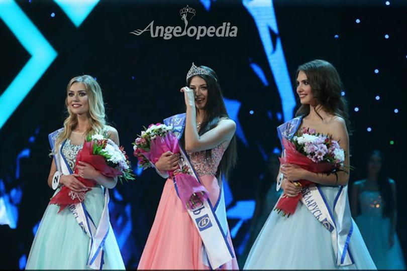 Polina Borodacheva crowned as Miss Belarus 2016