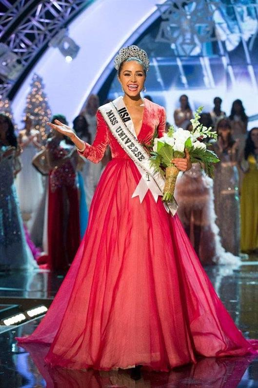 Olivia Culpo from United States of America was crowned Miss Universe 2012