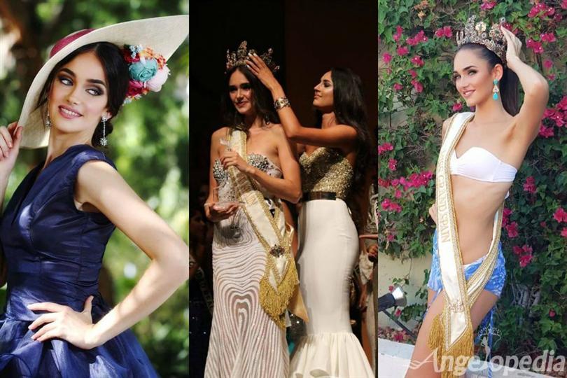 Adriana Sánchez Rivas crowned as Miss Grand Spain 2016
