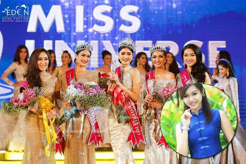 Shwe Eain Si crowned as Miss Grand Myanmar 2017