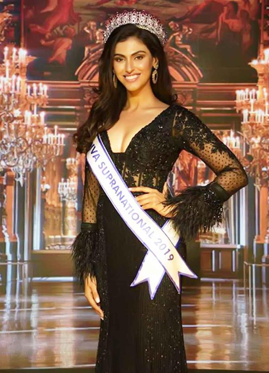 Shefali Sood crowned Miss Supranational India 2019