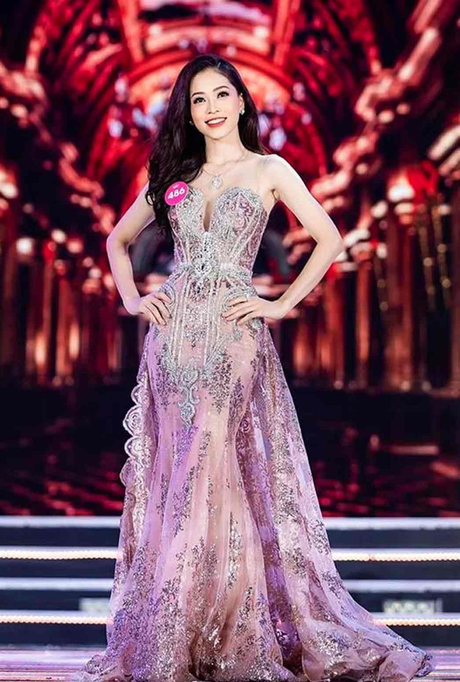 Bui Phuong Nga represented Vietnam at Miss Grand International 2018