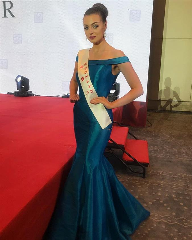 Alisha Cowie Miss World England 2018, our favourite for Miss World 2018