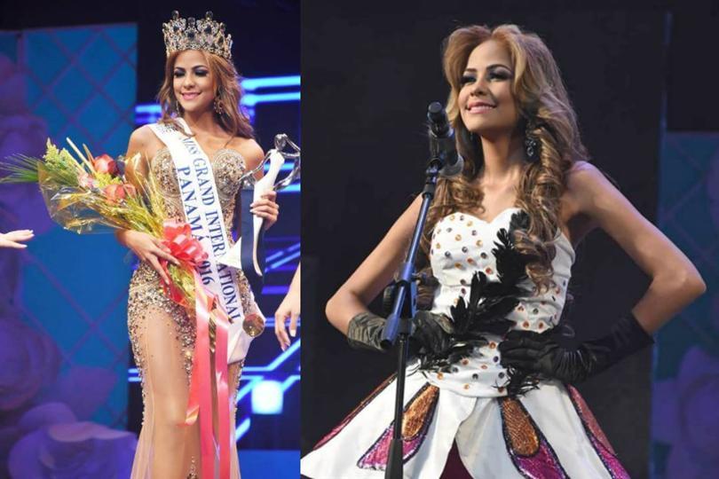 Selena Gómez Santamaría crowned as Miss Grand Panama 2016