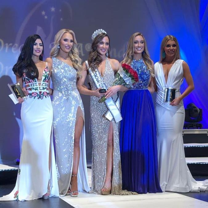 Natale Tonneson crowned Miss Oregon USA 2019, for Miss USA 2019