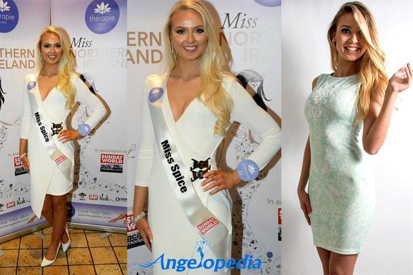 Leanne McDowell Cookstown Miss Spice Miss Northern Ireland 2015 Winner