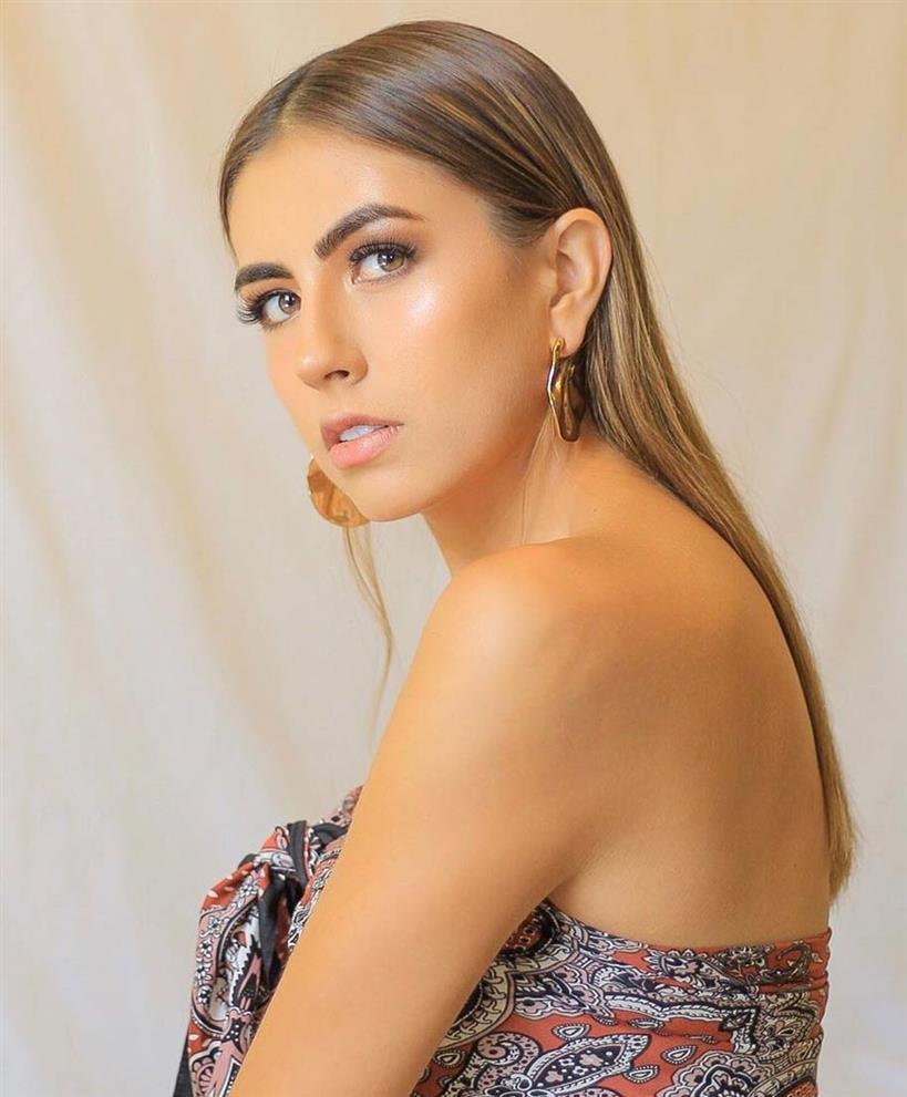 Maria Emilia Vasquez Finalist Miss World Ecuador 2020