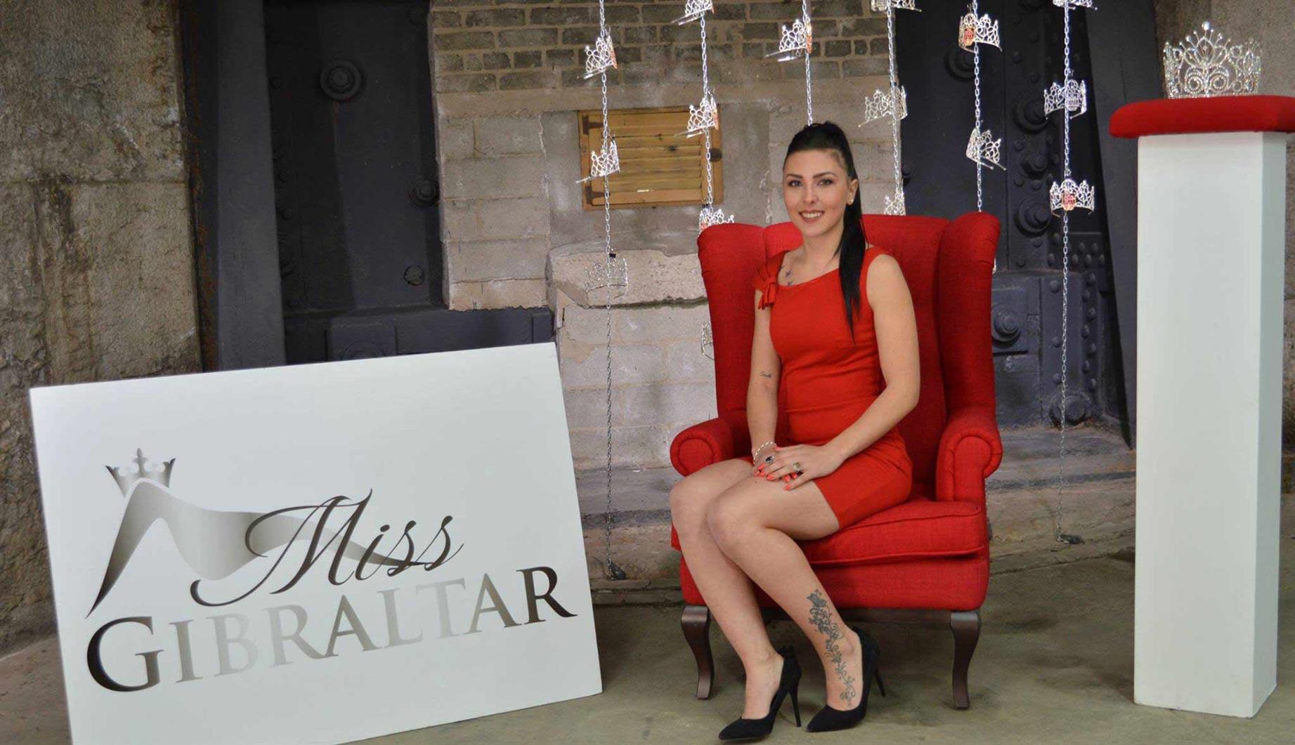 Miss Gibraltar 2018 finalist Jennifer Munoz