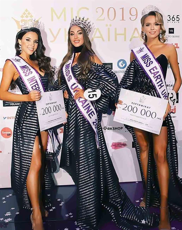 Diana Shabas crowned Miss Earth Ukraine 2019