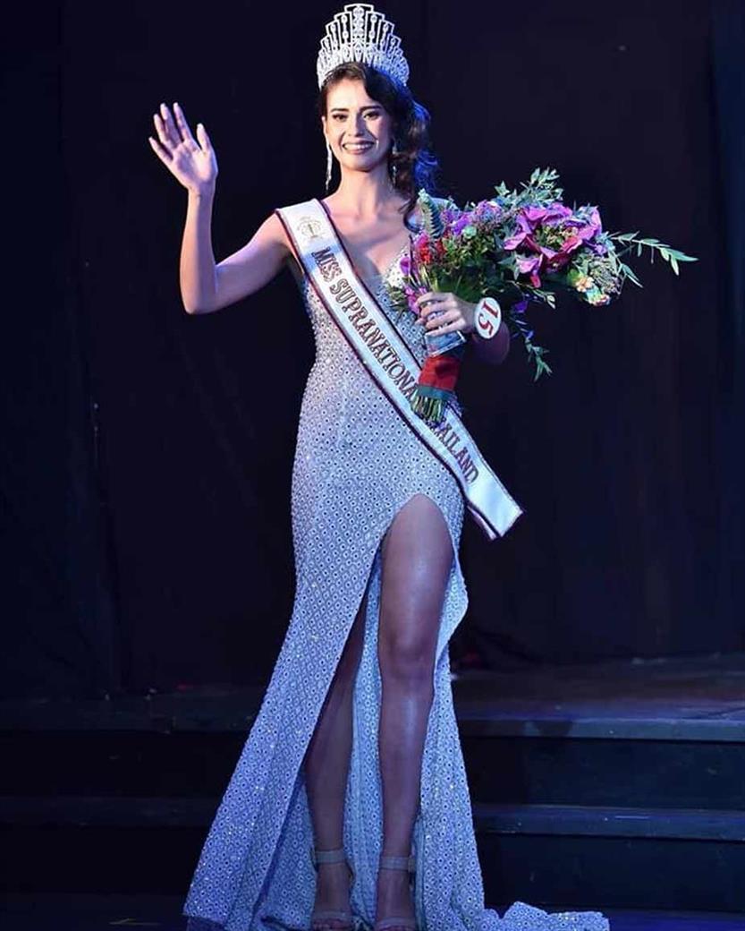 Anntonia Porsild crowned Miss Supranational Thailand 2019