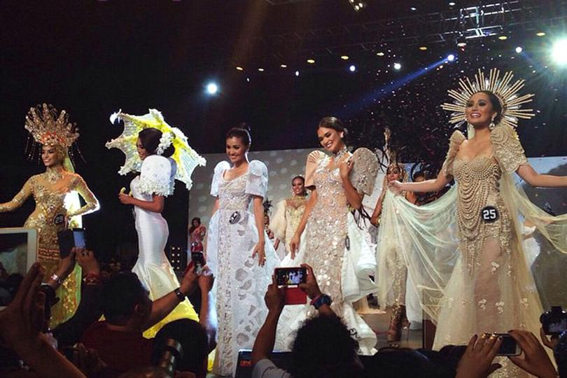 Binibining Pilipinas 2015 Top 5 national costume winners