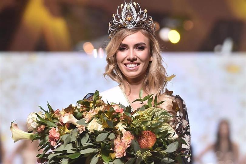 Milena Sadowska crowned Miss Polonia 2018