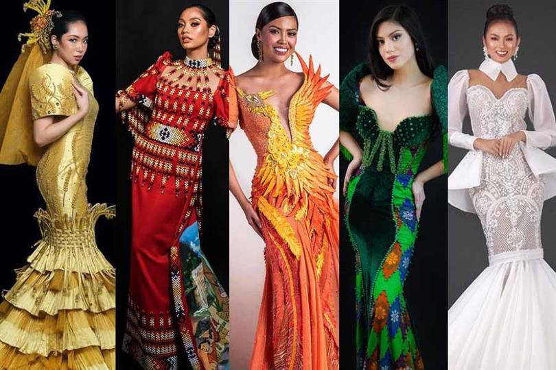 Magandang Filipinas 2021 Filipiniana Competition Top 10 Finalists