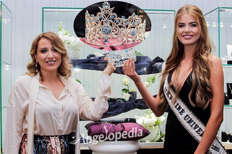 Miss Ukraine Universe 2017 unveils its new crown