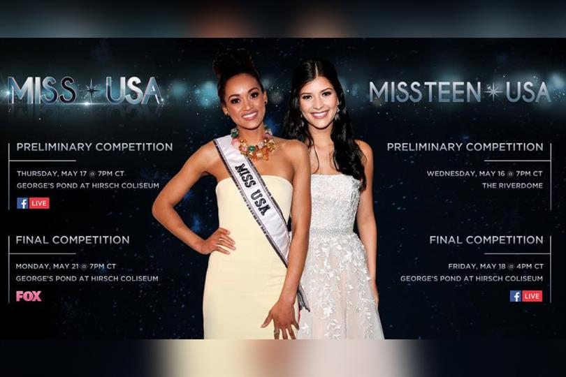 Miss USA 2018 and Miss Teen USA 2018 Show Information