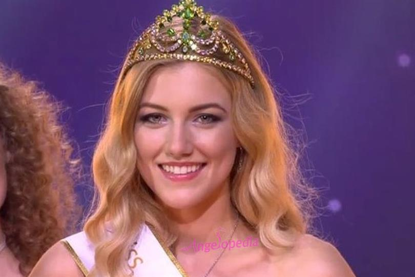 Radka Grendová crowned Miss International Slovakia 2018