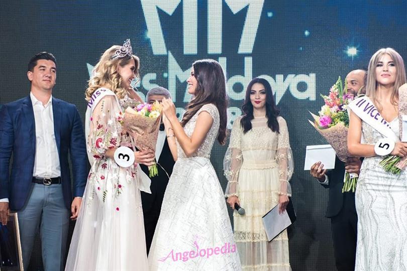 Tamara Zaretskaya crowned Miss Moldova 2018