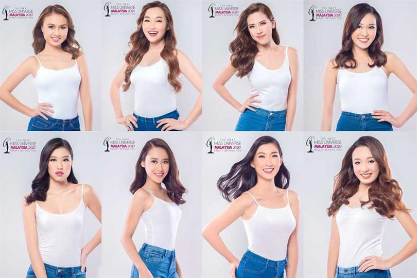 Miss Universe Malaysia 2020 Meet the Contestants