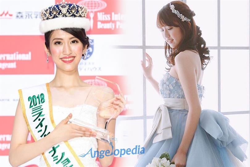 Hinano Sugimoto crowned Miss International Japan 2018 for Miss International 2018