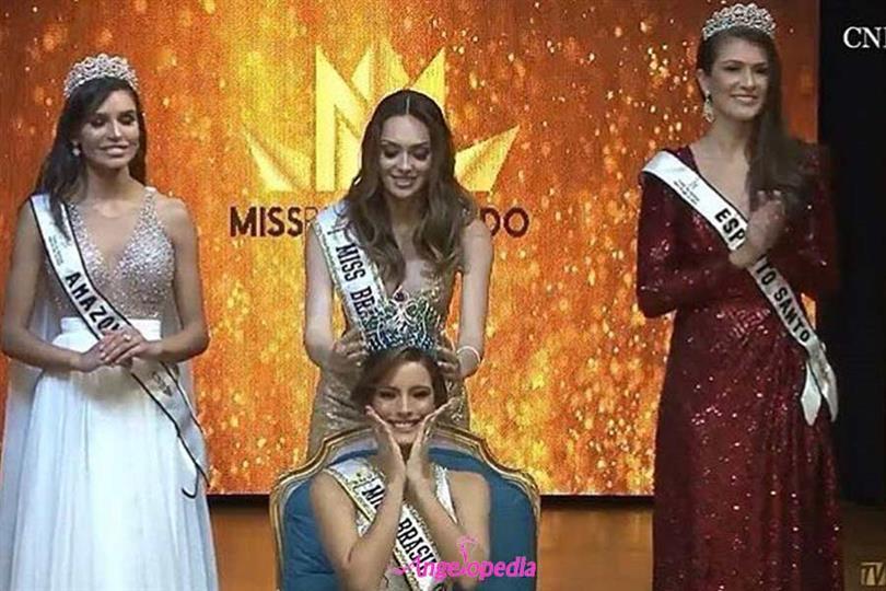 Jéssica S. Carvalho crowned Miss Mundo Brasil 2018