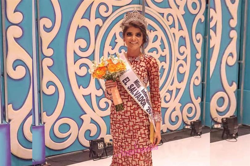 Ena Cea crowned Miss International El Salvador 2018
