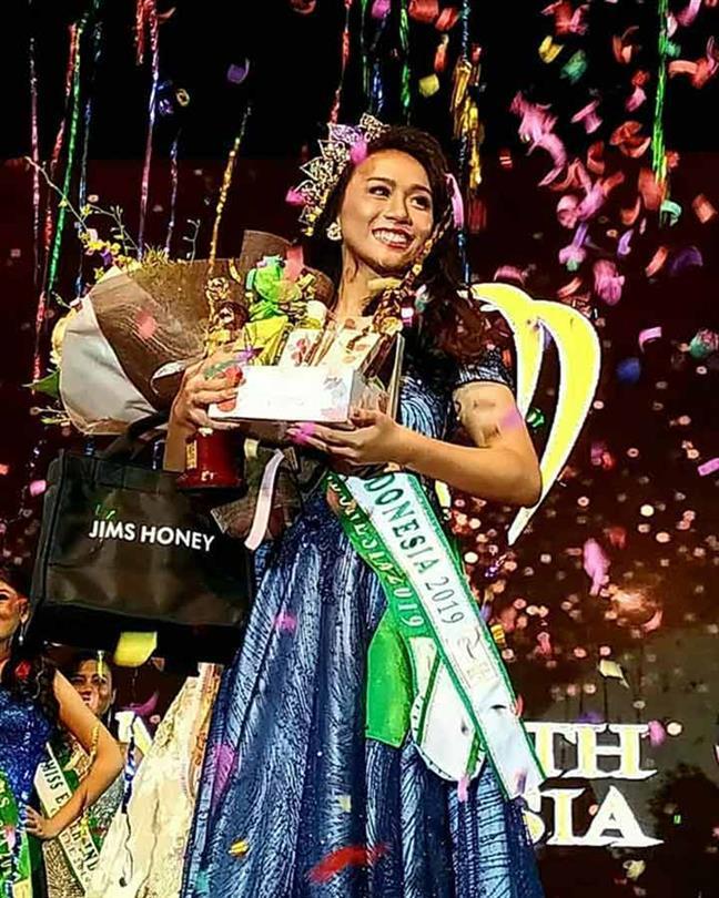Cinthia Kusuma Rani crowned Miss Earth Indonesia 2019