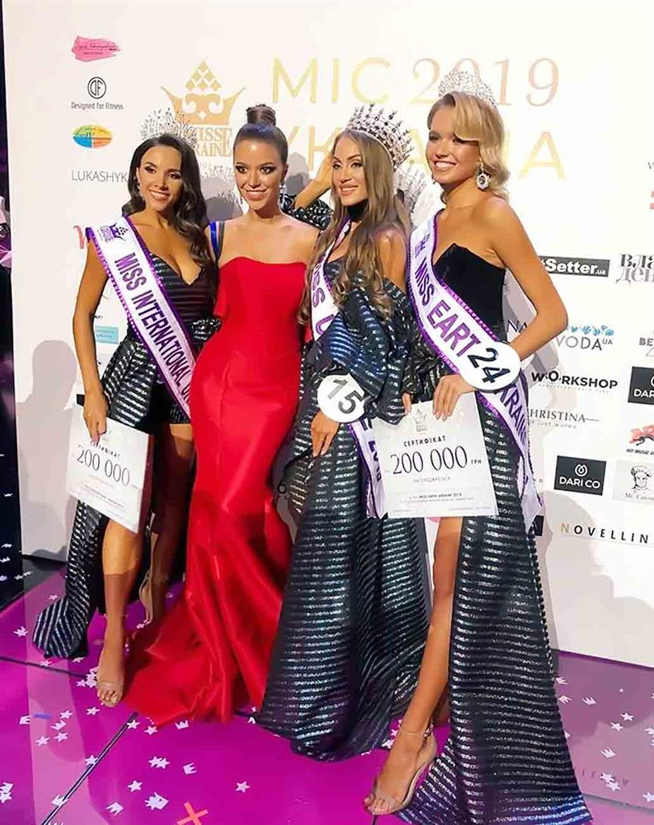 Marina Kiose crowned Miss International Ukraine 2019