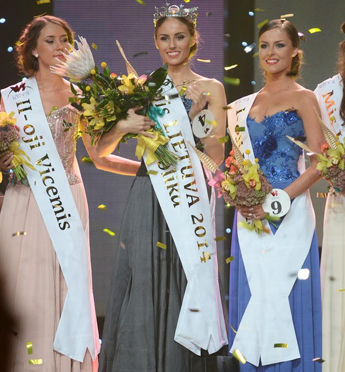 Patricija Belousova Miss Universe Lithuania 2014