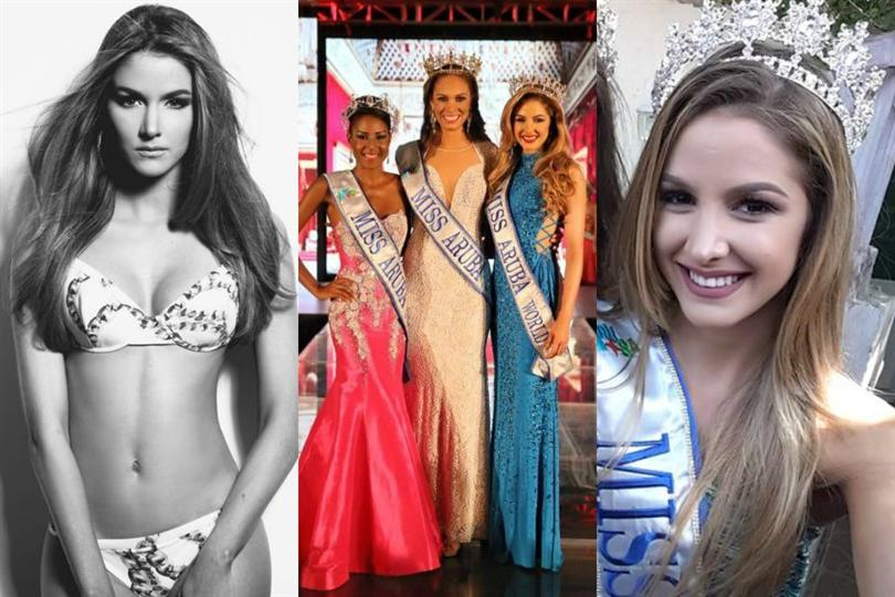 Lynette Do Nascimento crowned as Miss World Aruba 2016