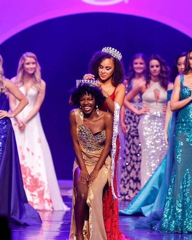 Cierra Jackson winner Miss District of Columbia USA 2020