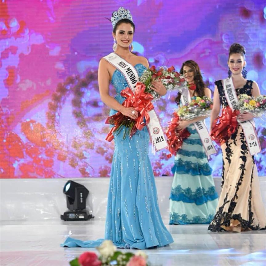 Maquenna Gaiarín Díaz crowned Miss World Paraguay 2018