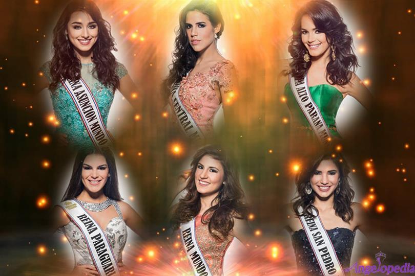 Miss World Paraguay 2017 - Top 6 Favorites