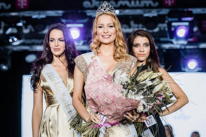 Frida Maczkó crowned Miss International Hungary 2018