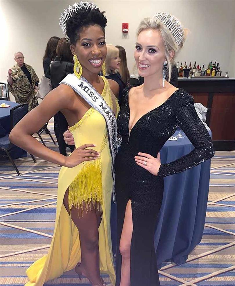 Jordyn Jagolinzer First Runner Up Miss Massachusetts USA 2020