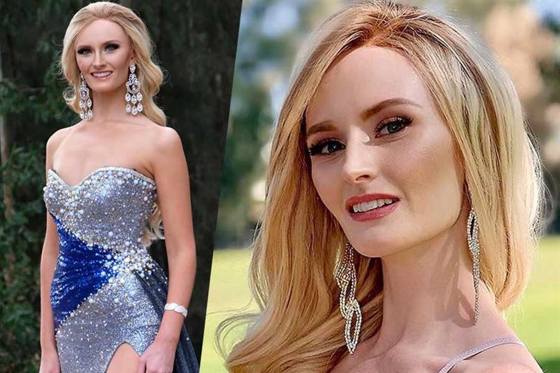 Miss Earth Australia 2020 and cancer survivor Brittany Dickson removes wig at talent contest