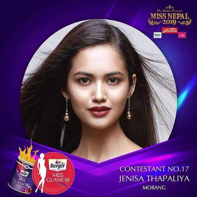 Our Favourites for the Glamour award of Miss Nepal 2019